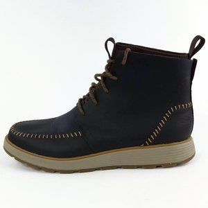 Chaco Dixon High Brown Leather Boots Mens Size 9